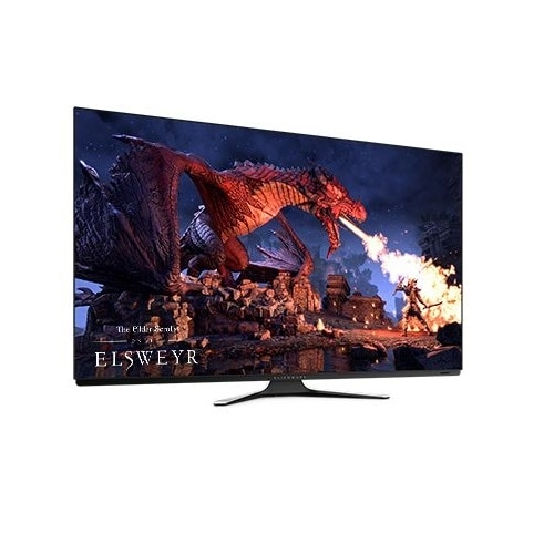 New Alienware 55 OLED Gaming Monitor: AW5520QF