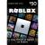 Roblox $50 Game Card, [Digital Download]
