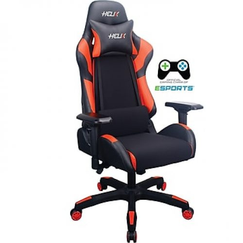 Staples Helix Gaming Chair With Cooling Technology, Red